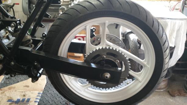 March 16 Rear wheel