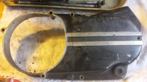 Jan 16 Left side engine cover