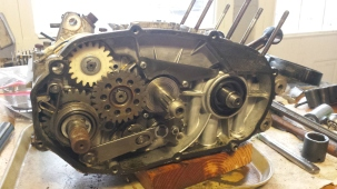 Jan 17 Clutch side apart